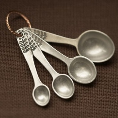 Pewter spoons