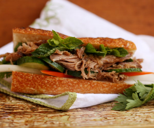 Caramel Pork Banh Mi – Food Woolf
