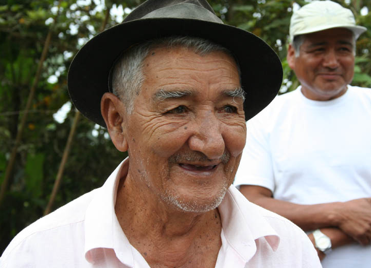 A Cacao Farmer in Ecuador