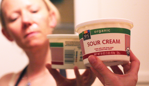 sour cream beauty treatment
