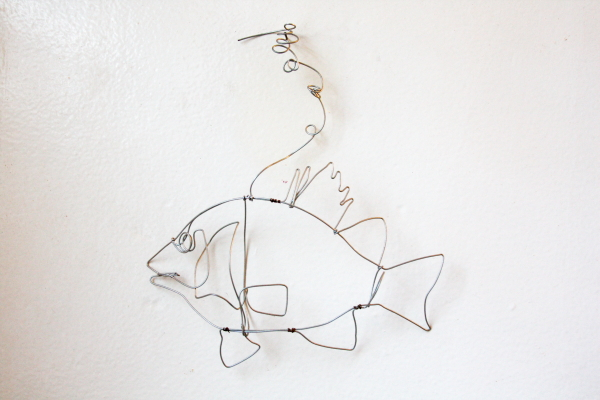 Brooke Burton wire sculpture los angeles