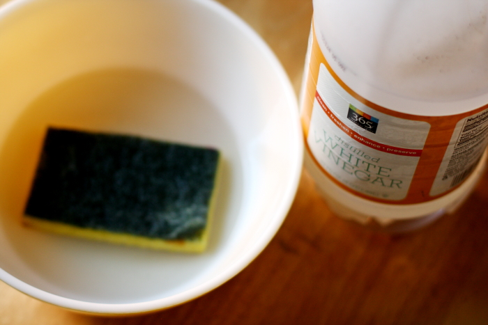 A green way to clean your kitchen sponges.
