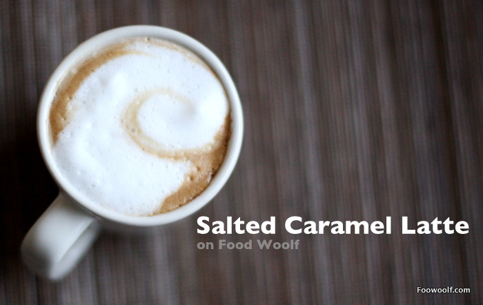 salted caramel latte at home