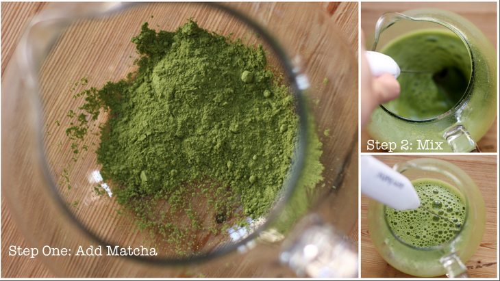 Mint Matcha collage